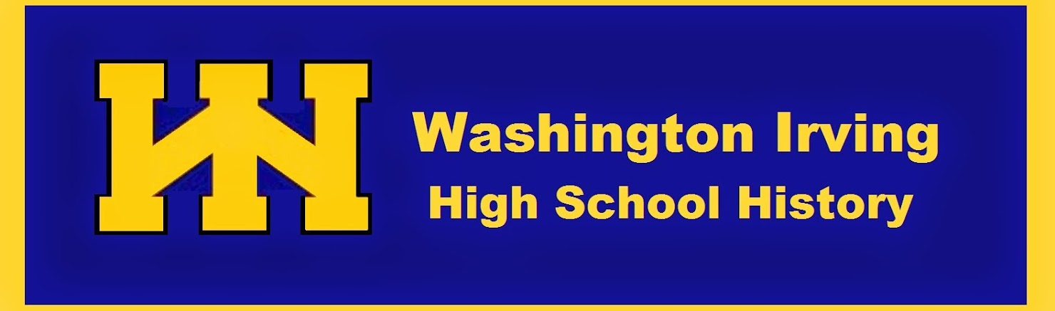 Washington Irving High School History