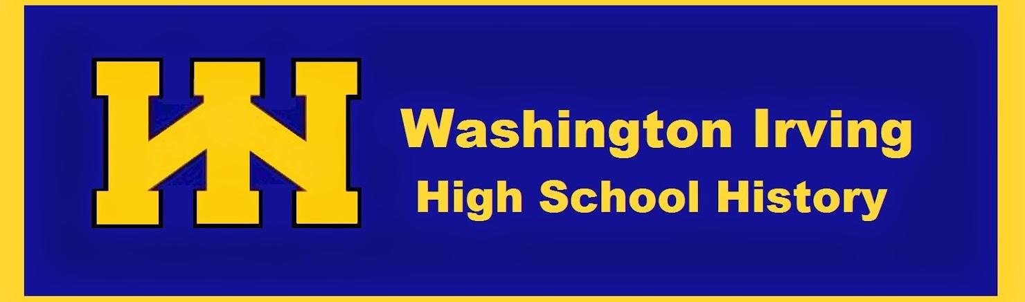 Washington Irving High School History