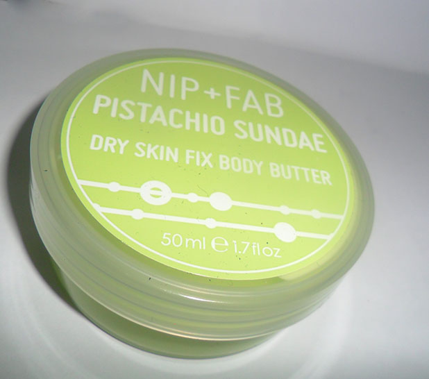 ... time is is the Nip+Fab Pistachio Sundae Dry Skin Fix Body Butter