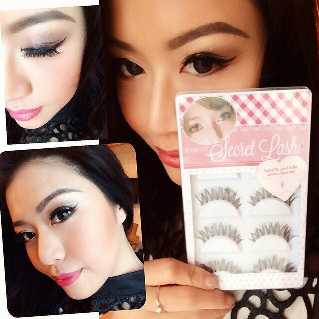 My Makeup Essential - Secret Lash Clear Base Natural False Eye Lashes