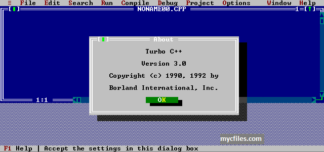 Turbo C for Windows Download Install Turbo C