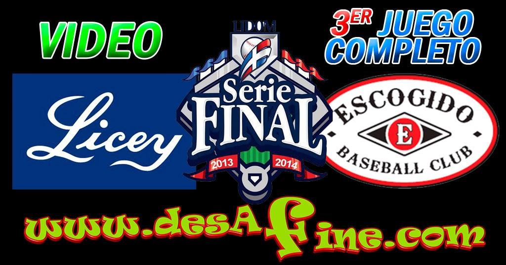 http://www.desafine.com/2014/01/3er-juego-licey-vs-escogido-serie-final.html