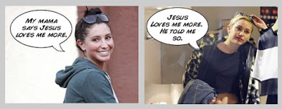 Bristol Palin Miley Cyrus good Christian