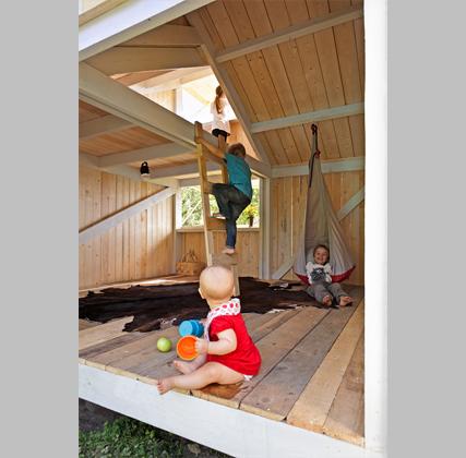 Ciudad observatorio arquitectura a escala reducida for Casas para jardin infantil