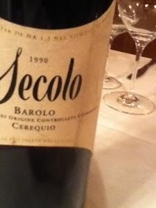 "CONTRATTO BAROLO ""SECOLO"" CEREQUIO VINEYARD"