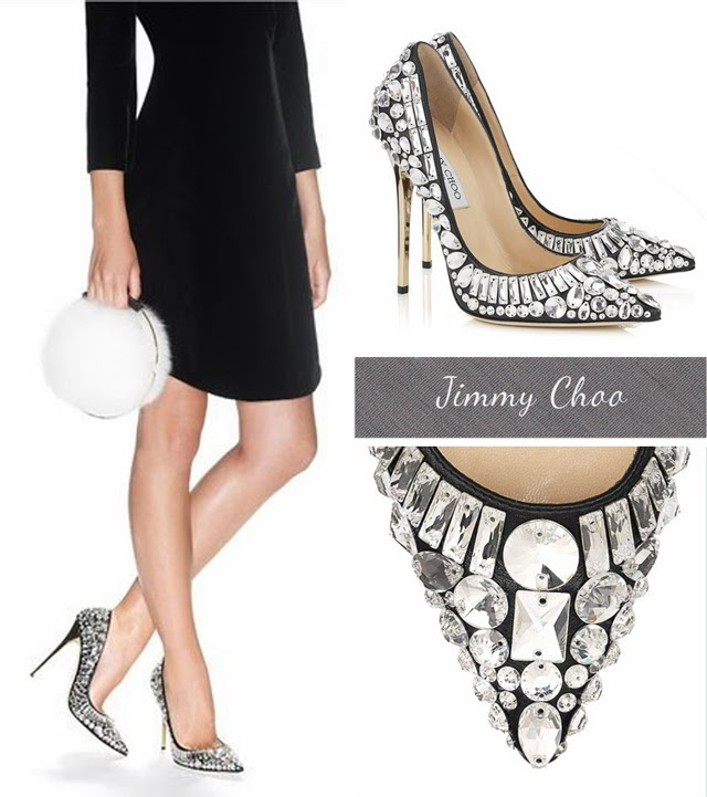 Jimmy Choo Tia Crystal Pumps £2095 spring summer 2014 shoes