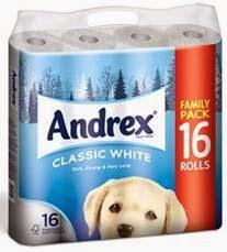 Andrex toilet paper