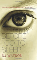 Book cover for Before I Go To Sleep by C.J. Sansom