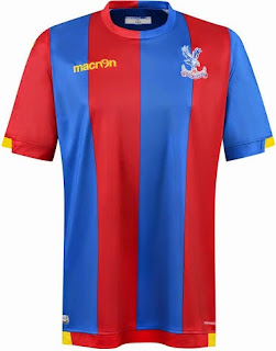 gambar photo Jersey Crystal palace home terbaru musim 2015/2016