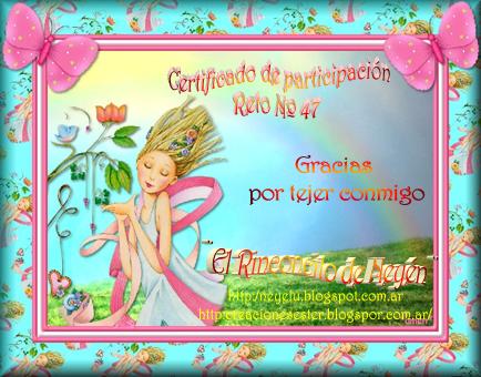 certificado reto N°47