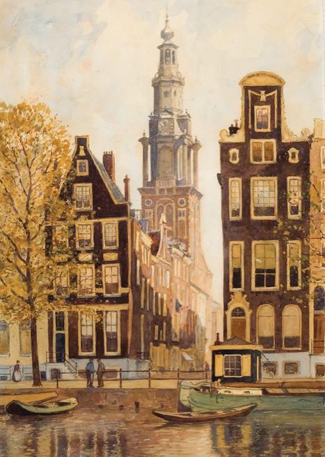 Veilingnieuws roodenburg amsterdamse aquarel for Modern keukenhout