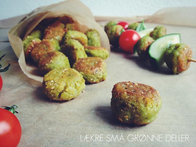 Små grønne vegetardeller - mit livs kogebog