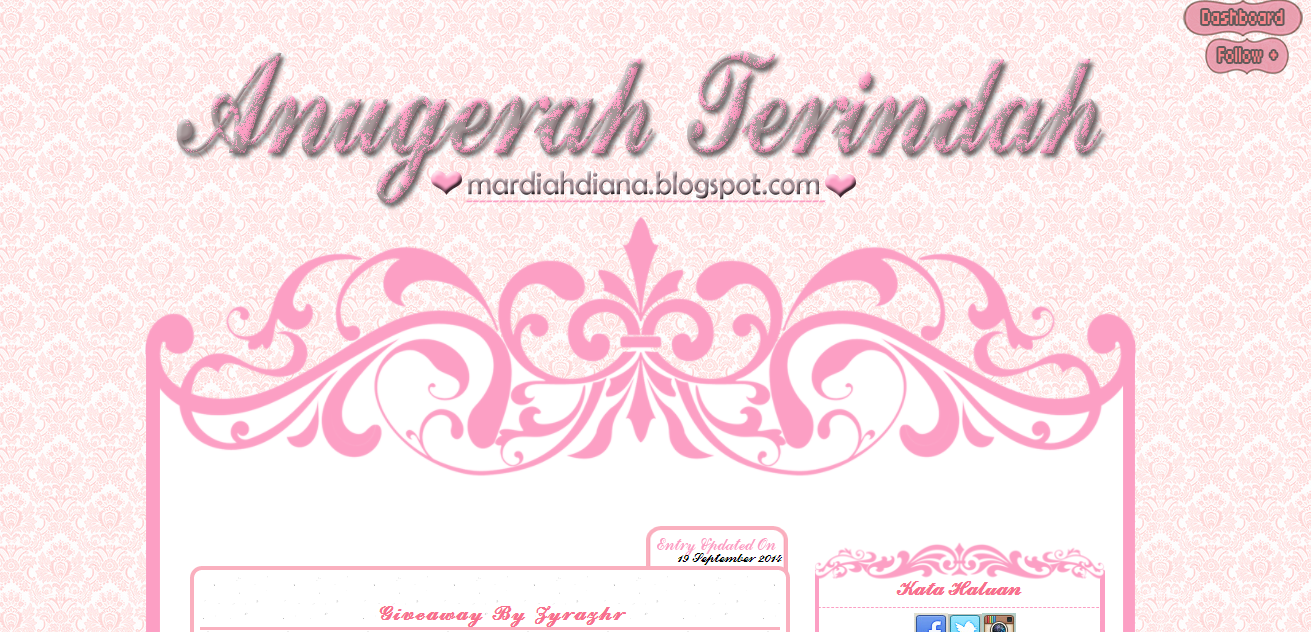 Edit Blog Mardiah Diana