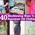 40 Mindblowing Ways To Repurpose Old Clothing