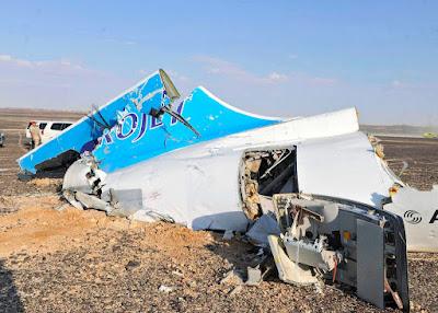 terrorakció, Oroszország, Egyiptom, utasszállító repülőgép, repülőgép baleset, Sínai-félsziget, Kogalymavia
