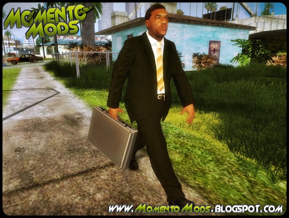 GTA SA - Mod De Pedestres Com Malas