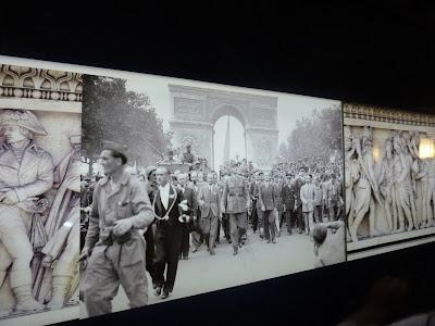 Arc De Triomphe pedestrian tunnel, Paris, France www.thebrighterwriter.blogspot.com