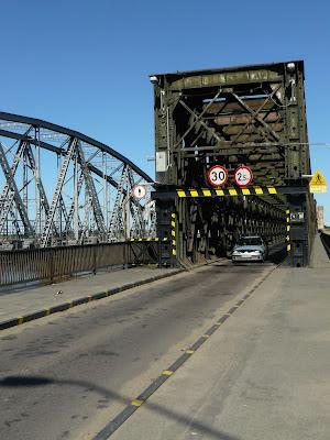 Wjazd miasto most drogowy w Tczewie
