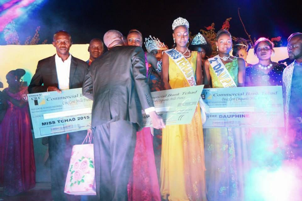 Miss Tchad Chad 2015 winner Elyse Dagosse