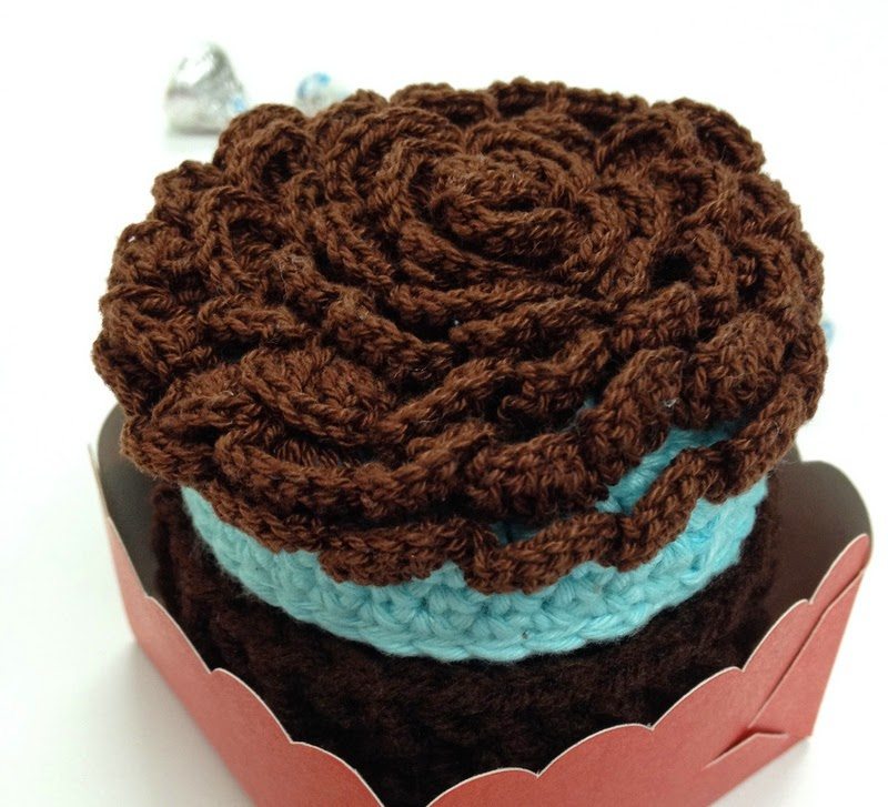 Choco Mint Mini Cake Trinket