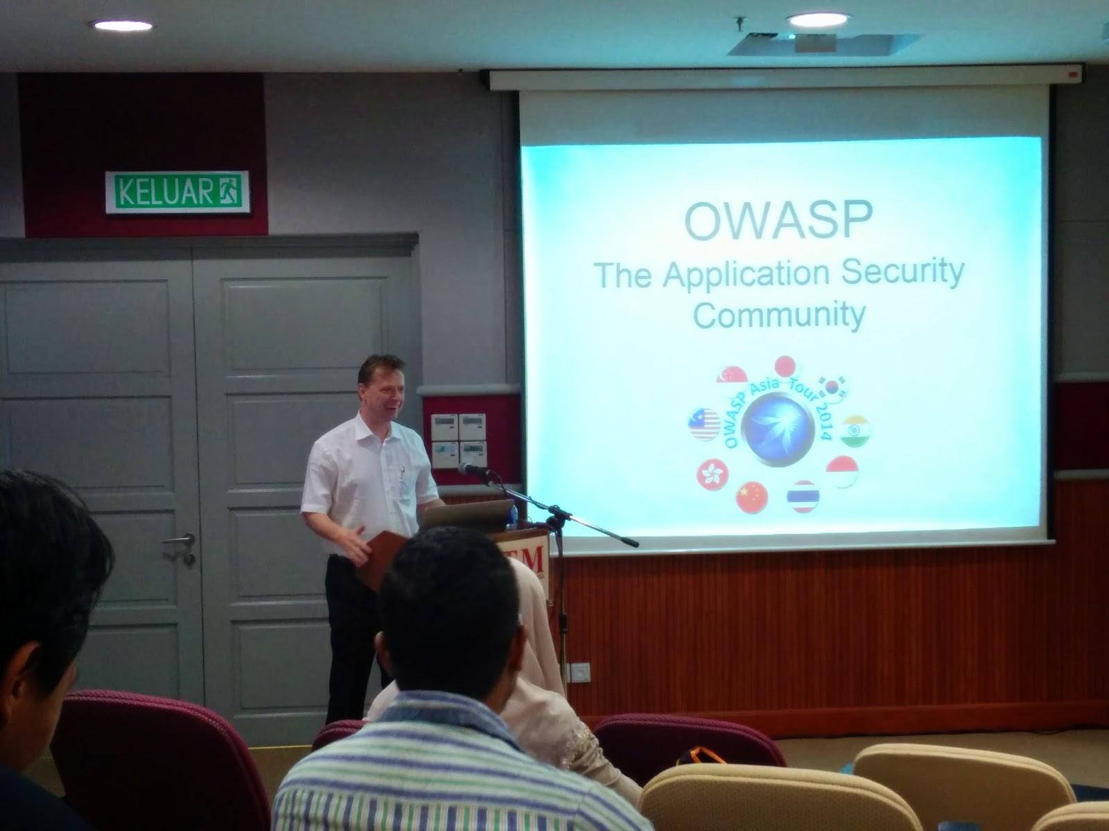 Tobias Gondrom (OWASP Foundation)