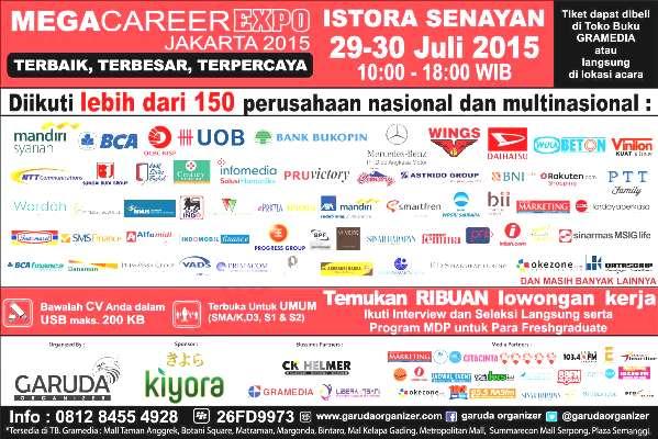 Jadwal Job Fair di Jakarta Juli 2015