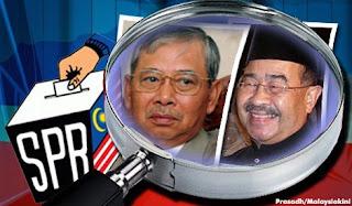 Tan Sri Abdul Aziz Shamsuddin. Megat Junid Megat Ayub, IC palsu