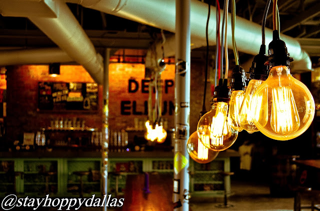 Deep Ellum Taproom Lights