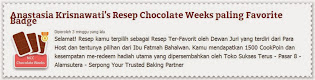 Favorit Recipe for NCC Chocolate Week