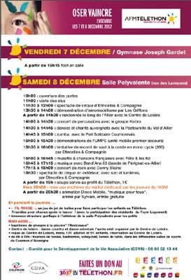 Téléthon 2012 Cournon