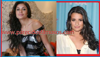Brasileña ex BBB Maria y Lea Michele