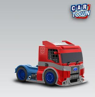 Ford Formula Truck 2012 Optimus Prime