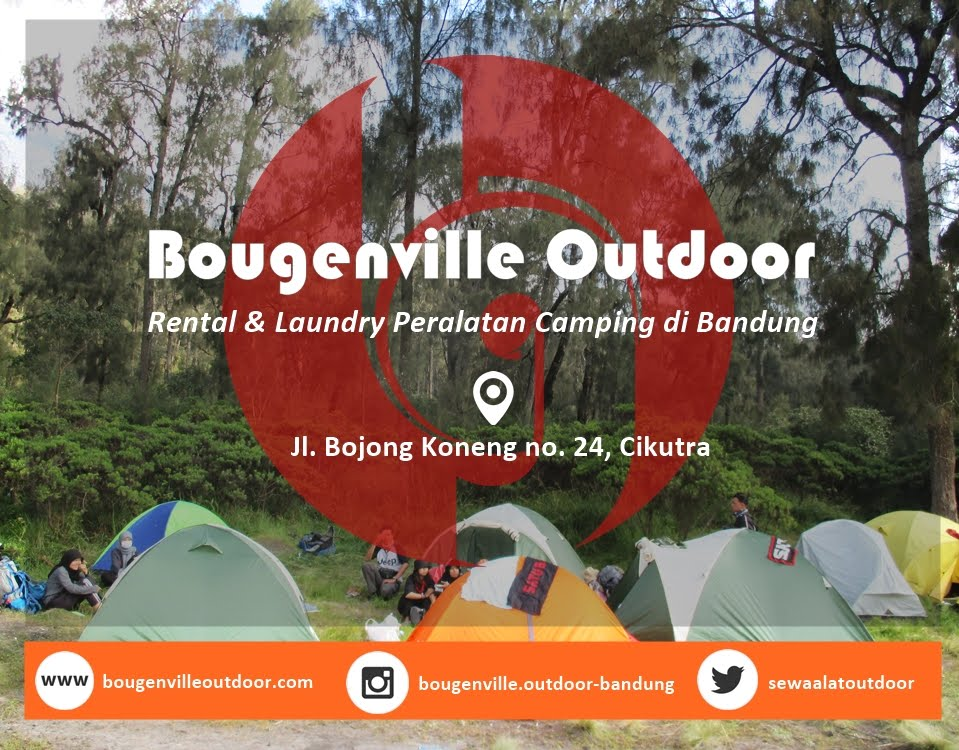 Laundry Alat Camping Bougenville Outdoor