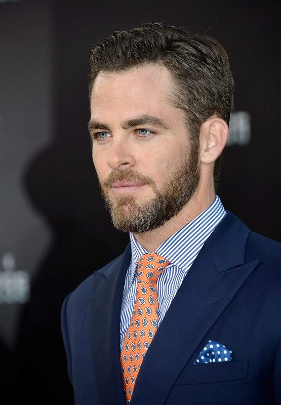 Television Actor Chris Pine Photo Gallery