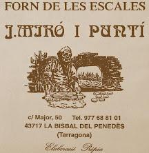 """FORN DE PA """" LES ESCALES """""""
