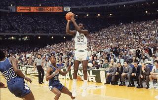 Michael Jordan NCAA