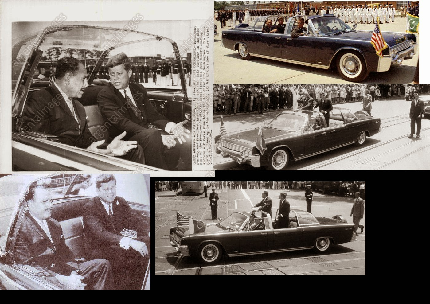 JFK bubbletop Washington, D.C. 7/11/61
