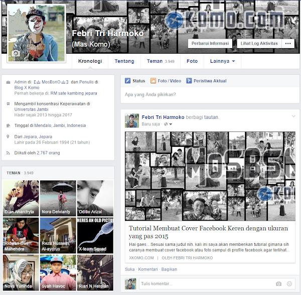Cara Membuat Nama Penulis pada Link Share di Facebook