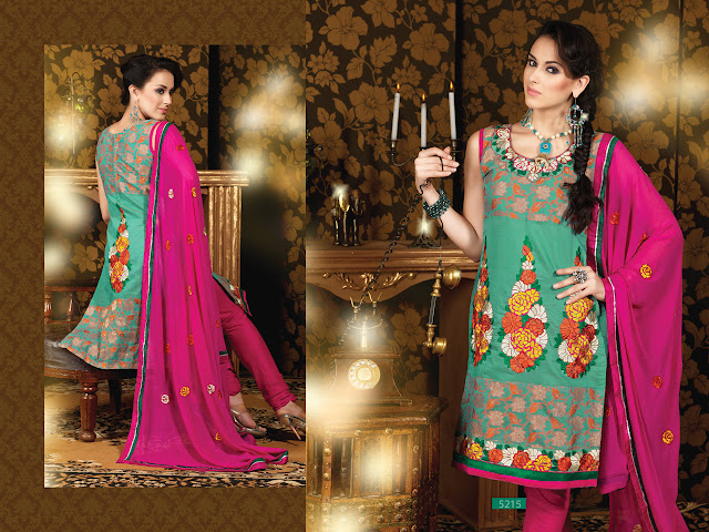 Designer Salwar Kameez Suits, Party Wear Churidar Salwar Kameez in USA