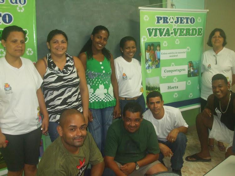 Turma do 3º e 4º Termo da EJA I da EM Mário Cerqueira Leite Filho - março/2011