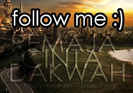 kalau dah singgah follow aje :)