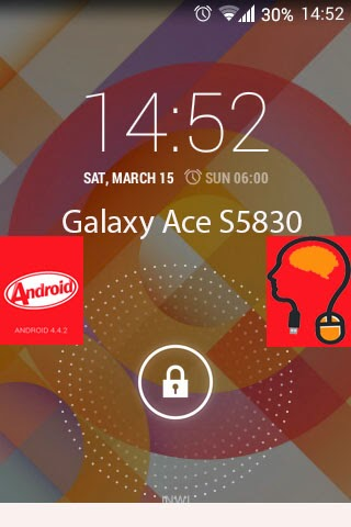 روم سيانجون مود كيت كات للهاتف Samsung  Galaxy Ace S5830