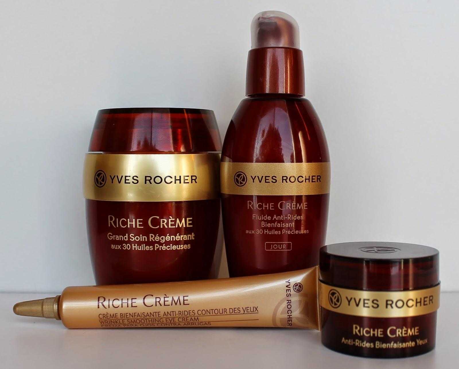 Riche crème 30 huiles précieuses Yves Rocher