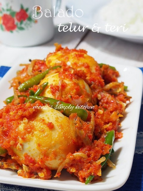 sambal telur dan teri
