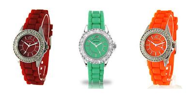 Sekonda Party Watch colour selection 2 KatSick