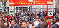 El 2 y 3 de junio de 2012 actividades de ocio con la selección española de fútbol en Sevilla