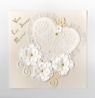Carte invitation mariage oriental