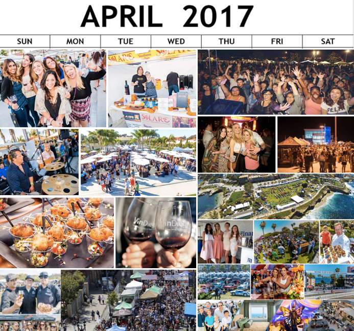All San Diego's Top Events Taking Place This April 2017!!!