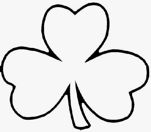 Shamrock coloring pages c0lor