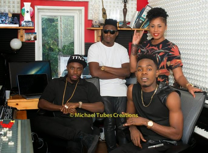 Fuse ODG & Patoranking in studio session
